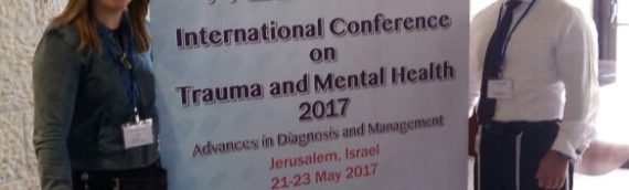 Presenting the Unit' s work at The International Conference on Trauma and Mental Health in Jerusalem